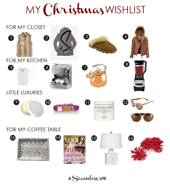My Xmas Wishlist from A Seamless Life